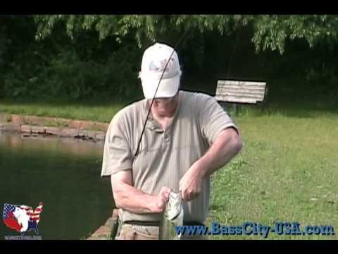 Ronnie Gets Strike King Polarized Glasses At McDonald Pond (Hempstead Lake State Park)