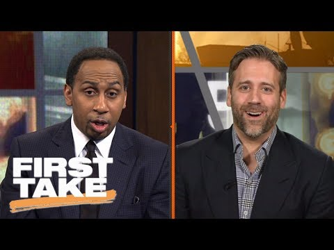 Stephen A. Smith And Max Debate Philadelphia 76ers | First Take | June 23, 2017