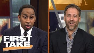 Stephen A. Smith And Max Debate Philadelphia 76ers | First Take | June 23, 2017 thumbnail