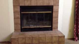 Before And After How To Replace An Inefficient Wood Burning Fireplace Tutorial