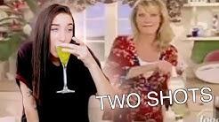 MAKING THE 2 SHOTS OF VODKA MEME DRINK