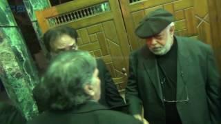 مصر العربية | شاهد نجوم الفن في عزاء الشاعر سيد حجاب