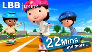 Skateboards Song | And Lots More Original Songs | From LBB Junior!