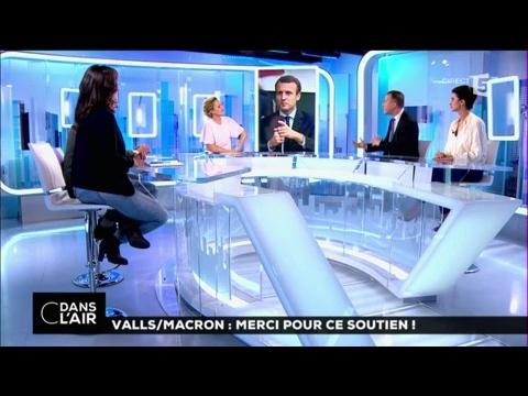 Valls/Macron : merci pour ce soutien ! #cdanslair 30-03-2017