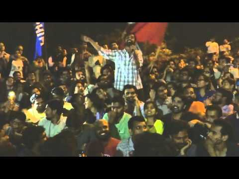 Anirban's Full Speech at Freedom Square JNU after bail today, 18.03.2016