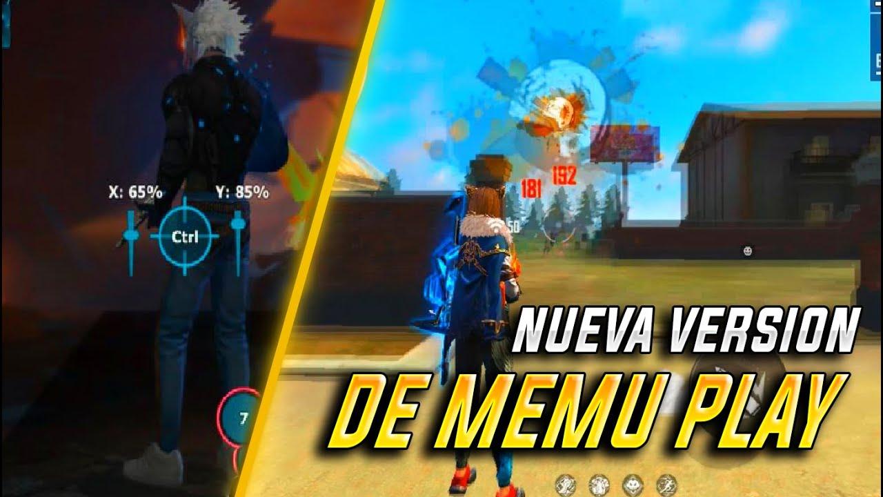 NUEVA VERSION DE MEMU PLAY CON  X e Y  SENSIBILIDAD PERFECTA en EMULADOR!? LINK