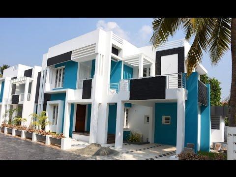 Aluva, 5 cents plot and 2100 sq ft, contemporary style villa for sale in Aluva, Kochi