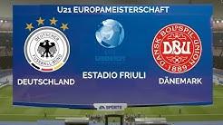 Deutschland - Dänemark | UEFA U21 Europameisterschaft 2019 1. Spieltag Gruppe B Prognose