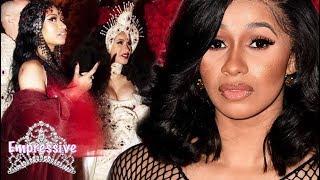 Cardi B spills tea about her Nicki Minaj encounter at the Met Gala | She praises Rihanna and Madonna