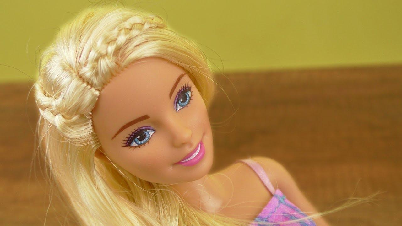 Barbie Diy Frisuren Idee Süße Flecht Frisur Für Eure Puppe