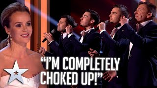 INCREDIBLY MOVING father & sons performance! | Live Shows | BGT Series 9