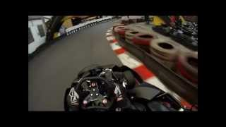 Warrington Speedkarting Arrive and Drive Helmet Cam GoPro Hero 3 Test