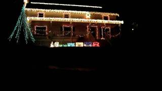 Christmas Lights on my House
