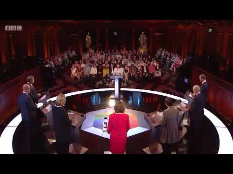 """TV election debate: Jeremy Corbyn & Caroline Lucas """"The first rule of leadership is to show up!"""""""