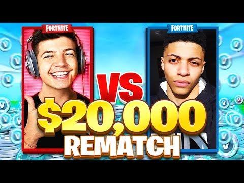 Myth VS TBNRfrags REMATCH! Friday Fortnite Battle Royale (FULL MATCH)