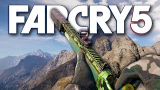 Far Cry 5 - UNSTOPPABLE NEW HUNTING RIFLE / SHOTGUN HYBRID (Far Cry 5 Free Roam)