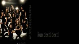 SNSD - Run Devil Run (babiixj English Version)