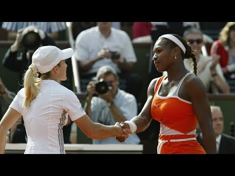Serena Williams vs Justine Henin 2003 RG Highlights