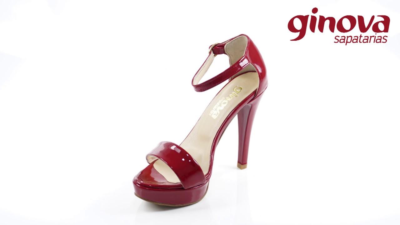 400e9b2d5 Sapato de Senhora Tacão Fino. Ginova Sapatarias
