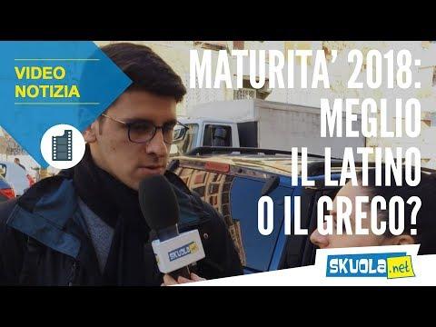 Materie Maturità 2018: meglio il latino o il greco?