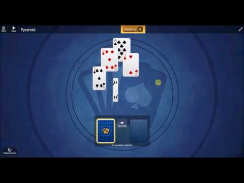 Microsoft Solitaire Collection - Pyramid January 3 2017