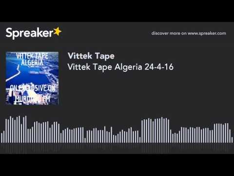 Vittek Tape Algeria 24-4-16