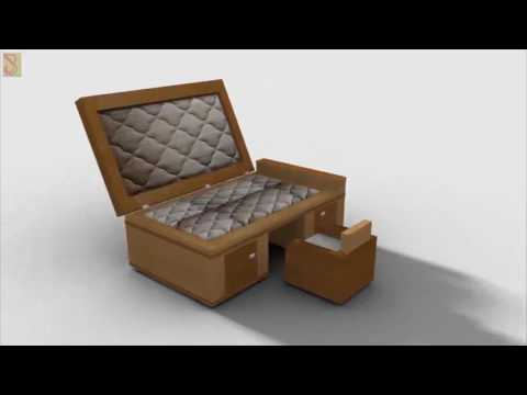 Transformable Wooden Furniture ad ( Shape Shifter )