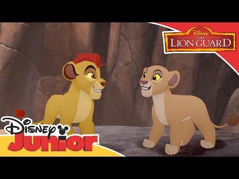 The Lion Guard - Kion Saves Kiara | Official Disney Junior Africa