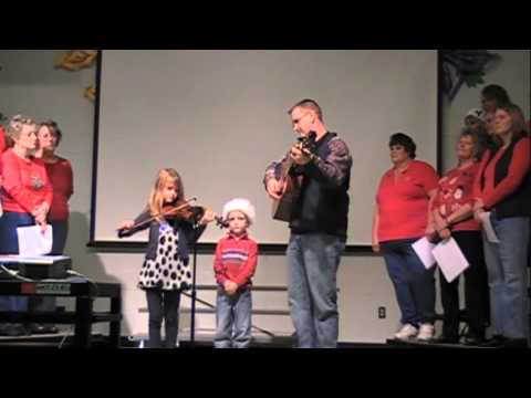 Christmas Program at Tabernacle Elementary School