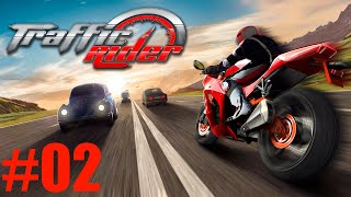 TRAFFIC RIDER GAMEPLAY MOTO RIDER TRAFFIC GAME DISPONIVEL PRA ANDROID E IOS #02