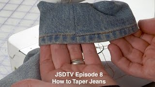 JSDTV Episode 8 l H๐w to Taper your Jeans