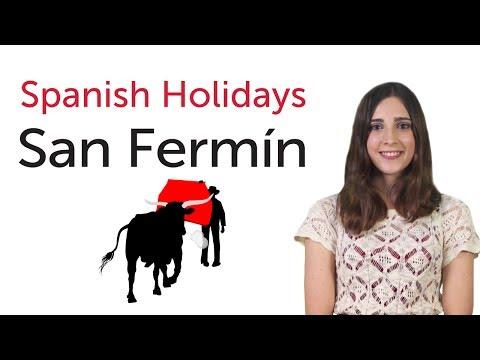 Learn Spanish Holidays - San Fermín