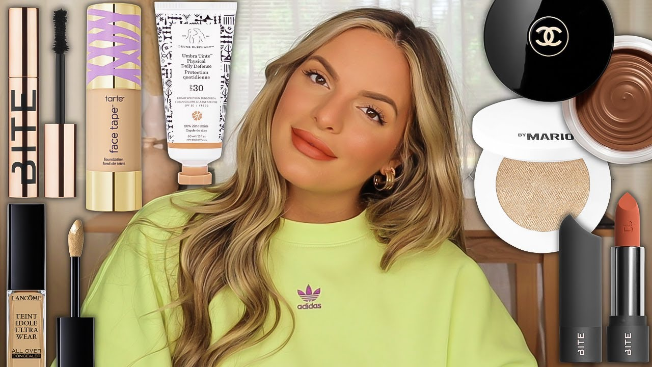 MY GO-TO MAKEUP ROUTINE FOR COVERAGE / LARGER PORES / TEXTURE | Casey Holmes
