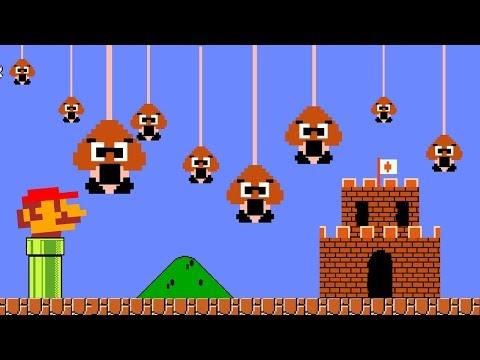 Reverse Super Mario Parody