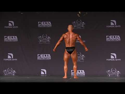 2019 Nordic Shape Open - Bodybuilding Under 85kg Free Posing