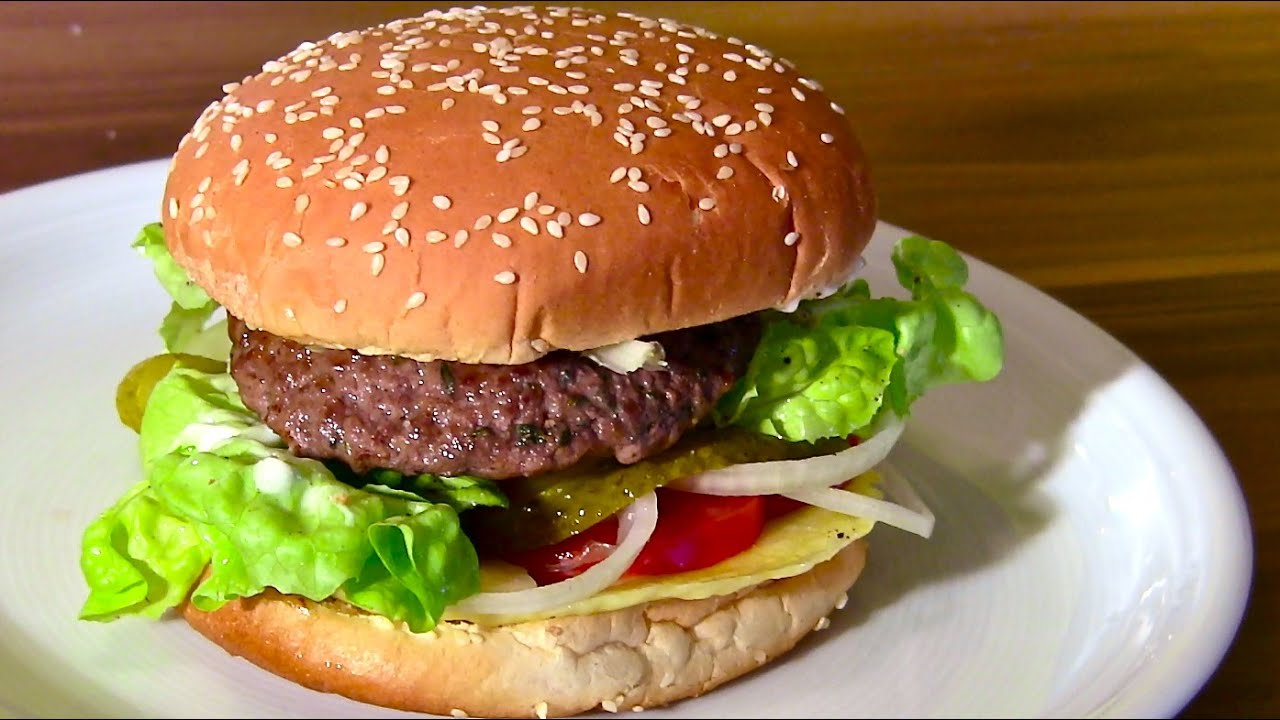 cheeseburger hamburger selber machen burger frikadellen buletten youtube. Black Bedroom Furniture Sets. Home Design Ideas