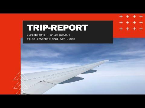 Trip-Report | Zürich(ZRH) - Chicago(ORD) | SWISS 777-300ER Economy Class