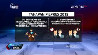 Download Video KPU : Ini Tahapan Pendaftaran Capres Cawapres MP3 3GP MP4