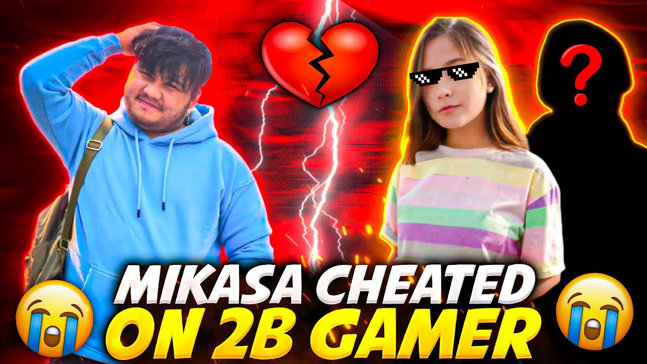 Download Mikasa Cheated😭 On 2B Gamer For Another Boyfriend    Garena Freefire