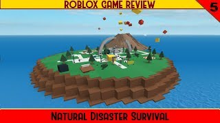 Natural Disaster Survival | ROBLOX Game Review part 5