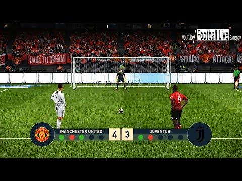 PES 2019 | Manchester United vs Juventus FC | Penalty Shootout | Ronaldo vs Pogba