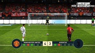 PES 2019   Manchester United vs Juventus FC   Penalty Shootout   Ronaldo vs Pogba