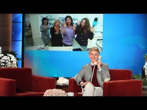 Ellen Surprises a