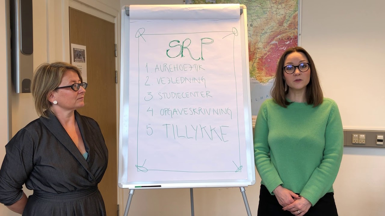 Aurehøj Gymnasium - SRP Vejledning