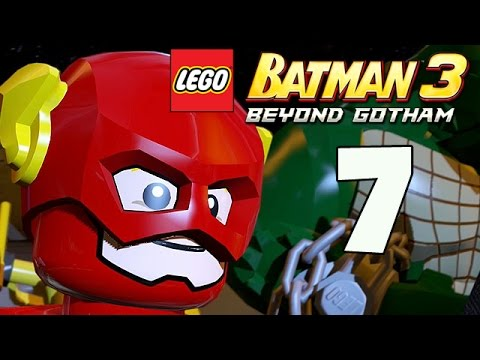 LEGO Batman 3: Beyond Gotham - The Big Grapple - Part 7 (Xbox One Gameplay)