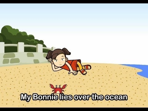 My Bonnie Lies over the Ocean   Family Sing Along - Muffin Songs