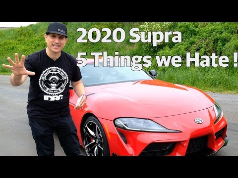 New Toyota 2020 GR Supra MKV | 5 Things To Hate