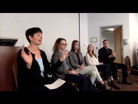 UNCW Fall 2016 Professional Writing Alumni Panel