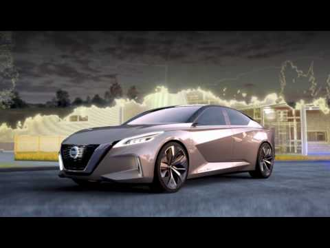 Nissan unveils Vmotion 2 0 at 2017 North American International Auto Show Full HD,1920x1080p