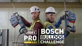 Which Tool Will Win? | The Bosch Bulldog Challenge